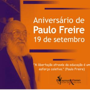 _A libertação através da educação é um esforço coletivo_ (Paulo Freire)